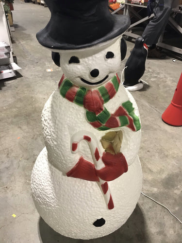 Light Up Snowman Decoration - Kenner Habitat for Humanity ReStore
