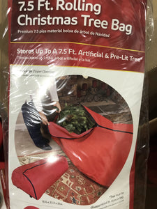 Rolling Christmas Tree Bag - Kenner Habitat for Humanity ReStore