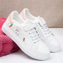 Load image into Gallery viewer, Round Toe Casual Sneaker Fall Autumn Spring Small Breathable Flat Leisure Rubber