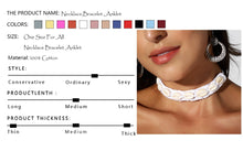 Load image into Gallery viewer, Shell Jewelry Set Necklace Bracelet and Anklet Cotton Crochet Boho Lace Beach Accessories