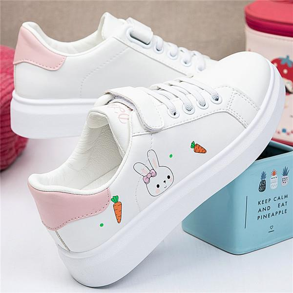 Round Toe Casual Sneaker Fall Autumn Spring Small Breathable Flat Leisure Rubber