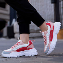 Load image into Gallery viewer, Women Fashion Walking Sneakers 2020 Mesh Rubber Spring Fall Shoes Casual Trainers