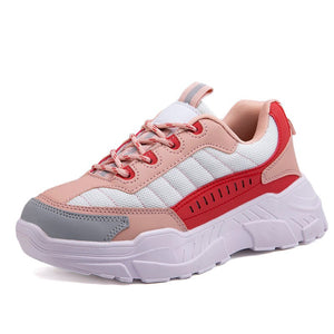 Women Fashion Walking Sneakers 2020 Mesh Rubber Spring Fall Shoes Casual Trainers