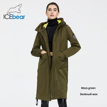 Load image into Gallery viewer, ICEbear 2020 Women Spring Winter jacket quality women coat long female clothing brand clothing