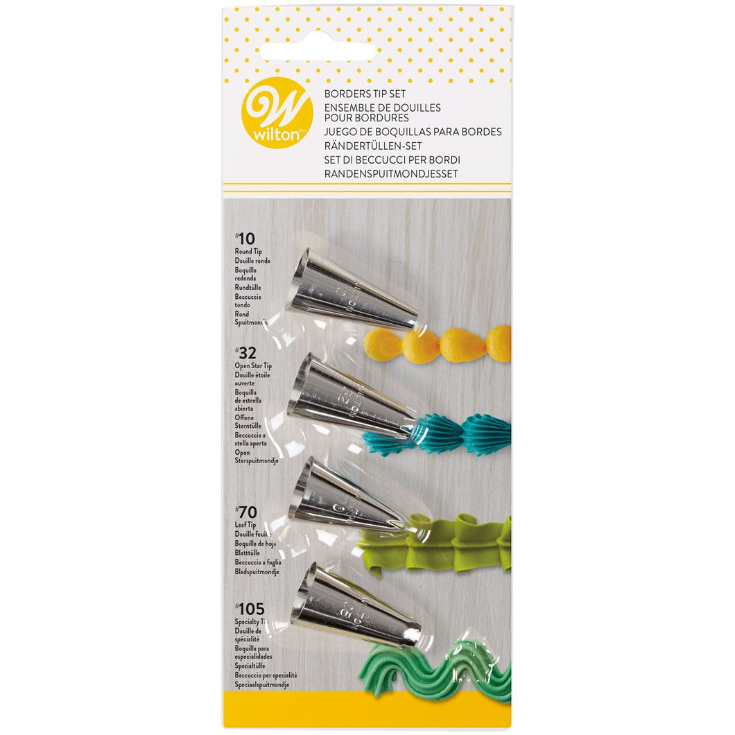 Wilton Douilles Bordures Set/4