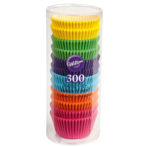 Wilton Caissettes Rainbow Brights (x300 )