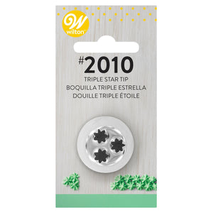 Wilton Decorating Tip #2010 Multi-Opening Star Carded