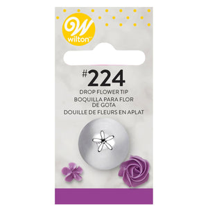 Wilton Decorating Tip #224 Dropflower Carded