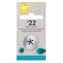 Charger l'image dans la galerie, Wilton Decorating Tip #022 Open Star Carded