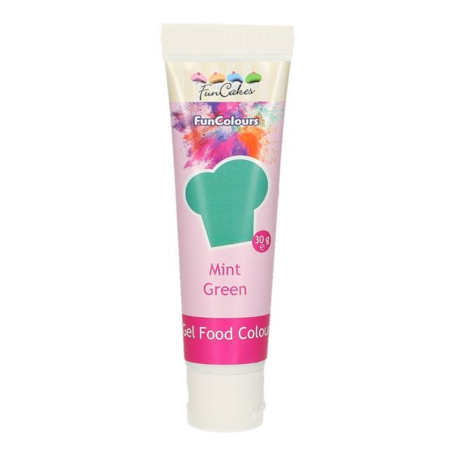 FunCakes Gel Colorant Alimentaire FunColours - Mint Green