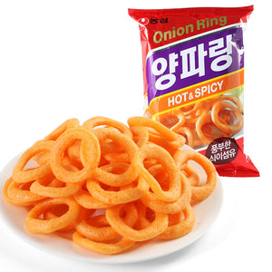 Chips onion rings épicé 40G