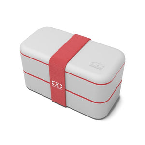 LUNCH BOX MONBENTO MB ORIGINAL COTON RED 1L