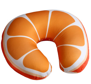 Coussin de Nuque orange