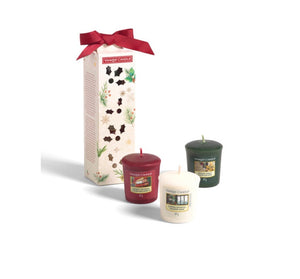 Yankee Candle - Coffret 3 votives