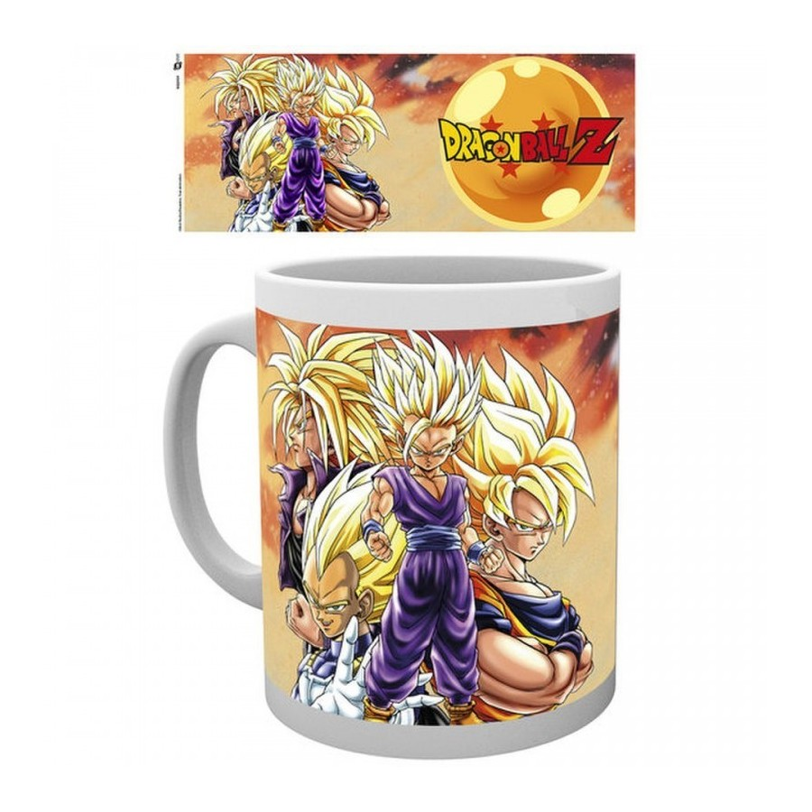 Mug DRAGON BALL Z Super Saiyans
