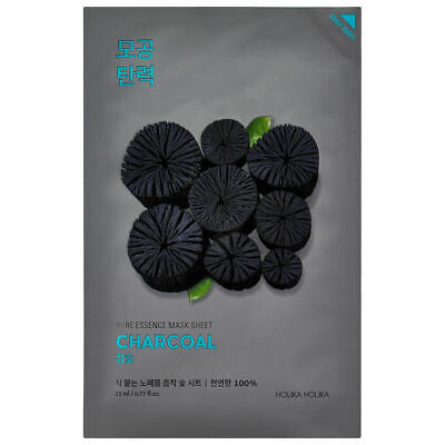HOLIKA HOLIKA PURE ESSENCE MASK SHEET – CHARCOAL