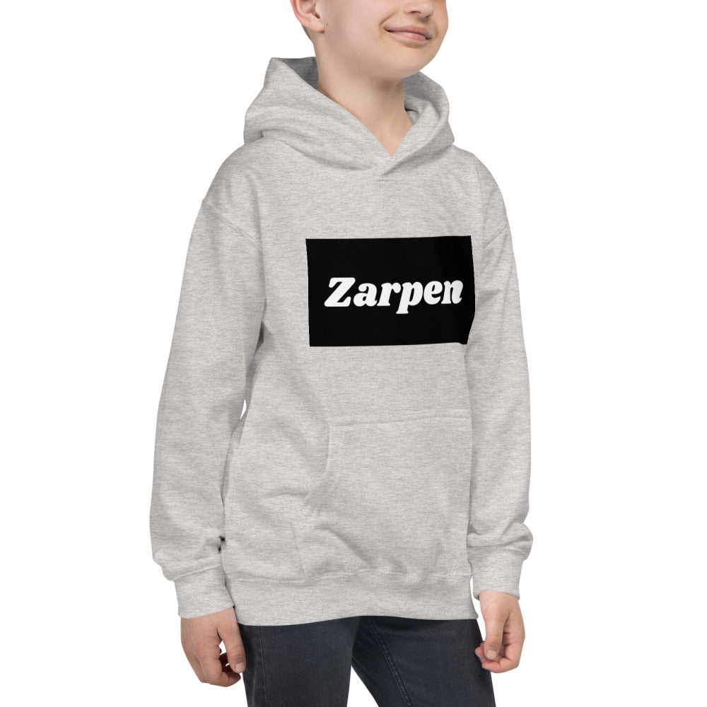 Grey child's hoodie