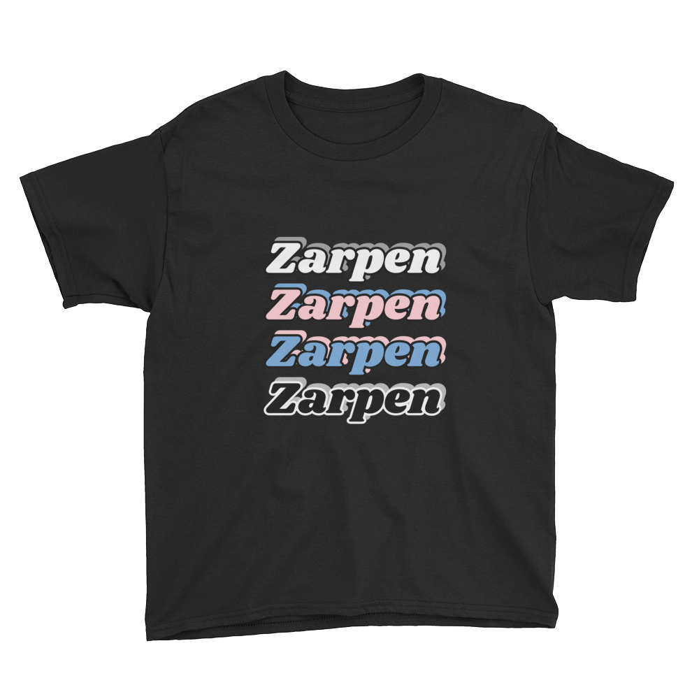 Zarpen Youth Short Sleeve (4 Logos) T-Shirt