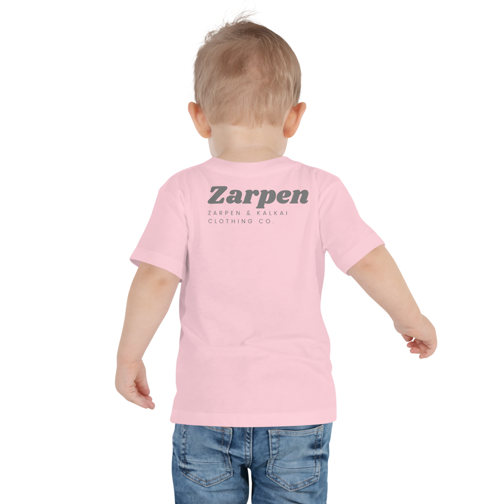 Zarpen Toddler Short Sleeve (4 Logos) Tee