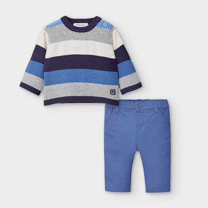 Mayoral Baby Boys Two-Piece Sweater/Trouser Set