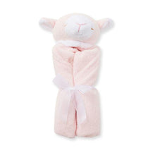 Load image into Gallery viewer, Angel Dear PINK LAMB Cuddly Blankie