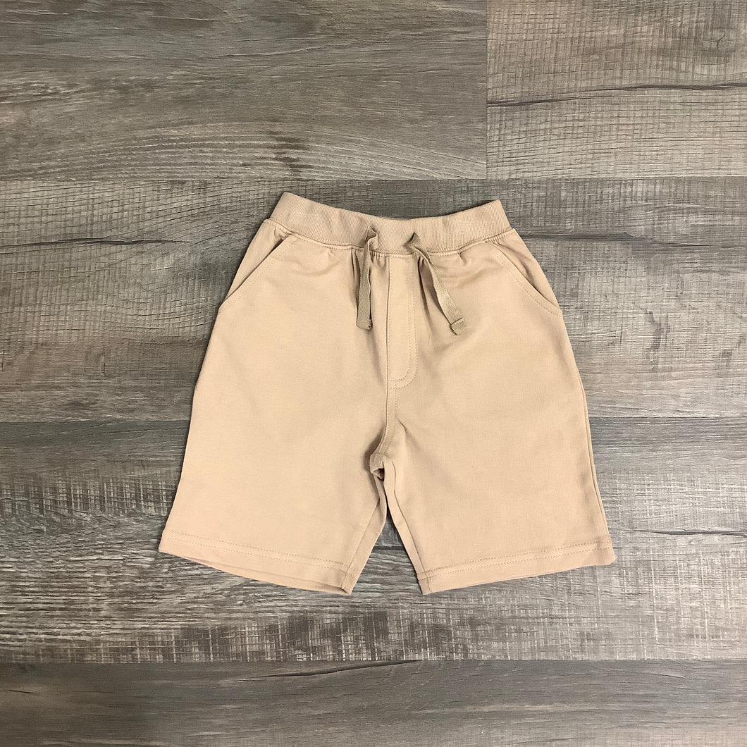 Comfy Pull On Khaki Knit Short