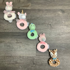 Sweet Sound Bunny Ring Rattle