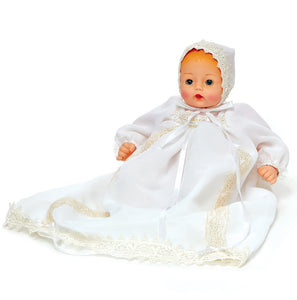 "Madame Alexander 12"" Christening Celebrations Huggable Huggums Doll"
