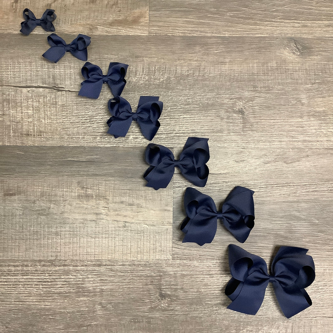 Navy Basic Essential Bow
