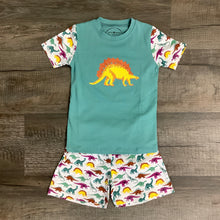 Load image into Gallery viewer, Boys Dinosaur Short Sleeve Pajama Set