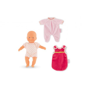 "COROLLE Mini Calin ""Goodnight"" 8"" Doll Gift Set"