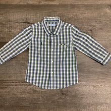 Load image into Gallery viewer, Baby Boys Classic Plaid Shirt