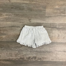 Load image into Gallery viewer, Gray Ruffle Shorts