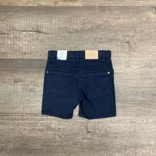 Load image into Gallery viewer, Five Pocket Navy Twill Shorts