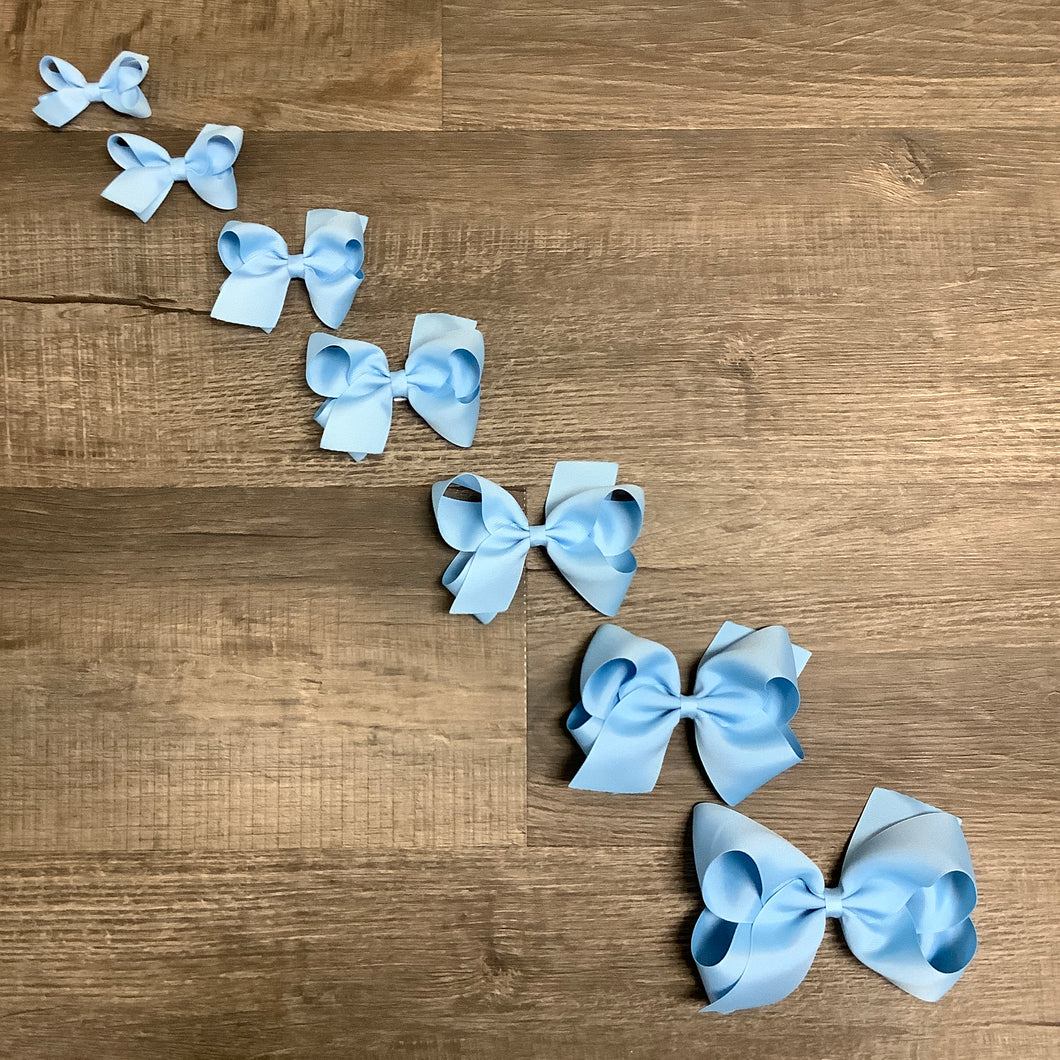 Blue Basic Essential Bow