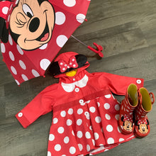 Load image into Gallery viewer, Minnie Mouse Rain Boots