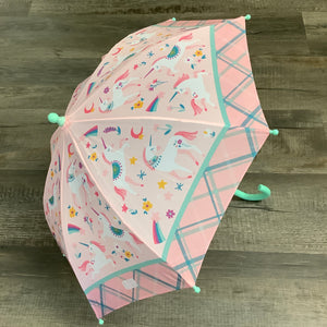 Fancy Unicorn Pink Raincoat