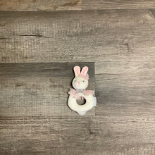 Load image into Gallery viewer, Sweet Sound Bunny Ring Rattle