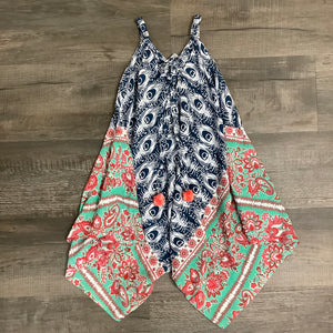 Peacock Clover Jumpsuit