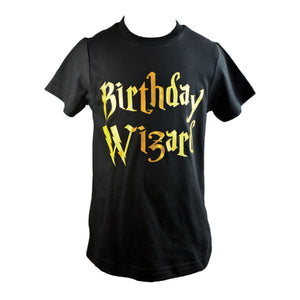 Little Rascals Boys Birthday Wizard Shirt