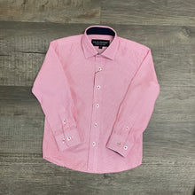 Load image into Gallery viewer, Leo & Zachary Boys Cool Pink Long Sleeve Shirt