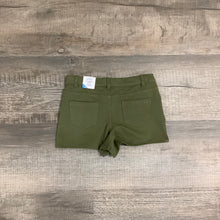 Load image into Gallery viewer, Comfy Five Pocket Olive Knit Shorts
