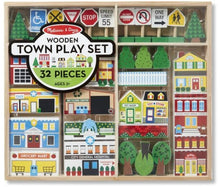 Load image into Gallery viewer, Melissa & Doug 32-Piece Wooden Play Set