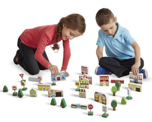 Melissa & Doug 32-Piece Wooden Play Set