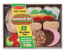 Load image into Gallery viewer, Melissa & Doug Felt Food Set