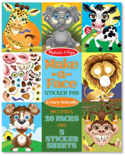 Load image into Gallery viewer, Melissa & Doug Make-a-Face Sticker Pad