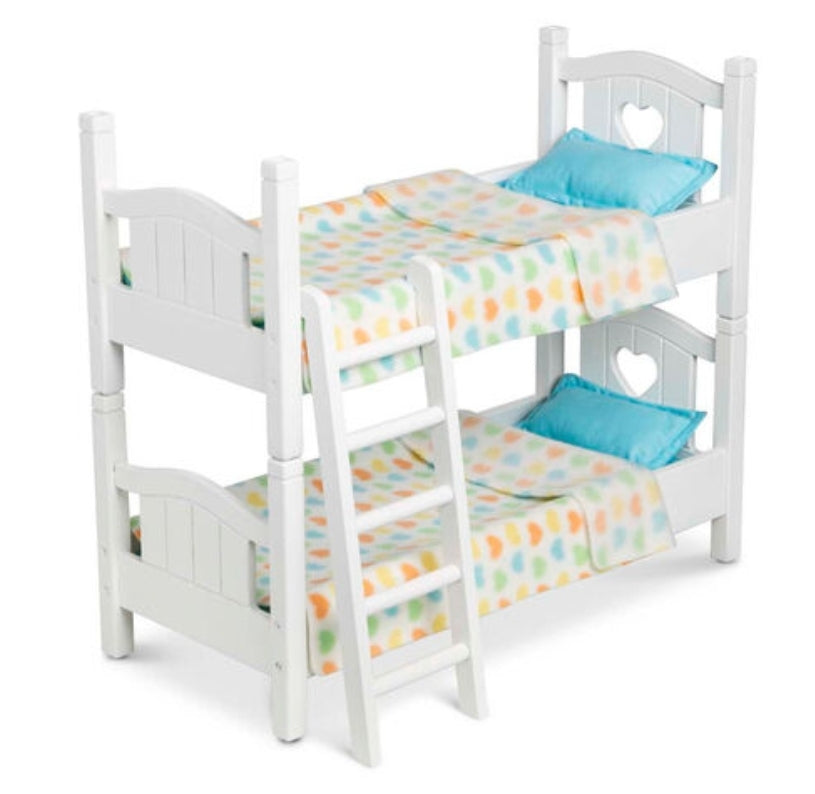 Melissa & Doug Play Bunk Bed