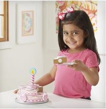 Load image into Gallery viewer, Melissa & Doug Triple-Layer Party Cake
