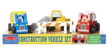 Load image into Gallery viewer, Melissa & Doug Vehicle Set
