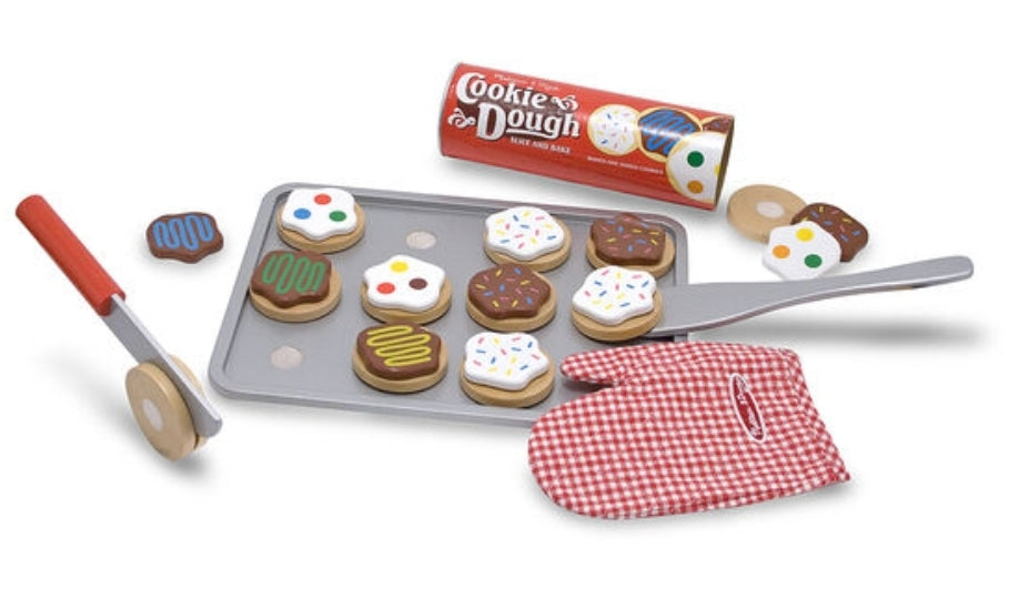 Melissa & Doug Wooden Slice & Bake Cookie Set